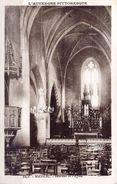 *CPA - 15 MASSIAC Intérieur De L'église - France