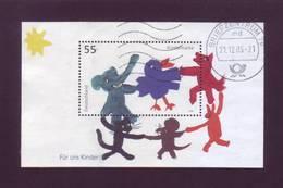 Germania 2003 - Animali In Girotondo, BF63 Con Annullo Rotondo - [7] Repubblica Federale