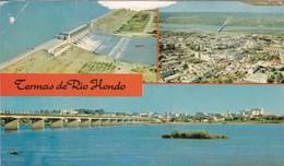 TERMAS DE RIO HONDO, SGO DEL ESTERO, MULTI VISTAS VIEW VU. EDICOLOR. ARGENTINE -BLEUP - Argentina