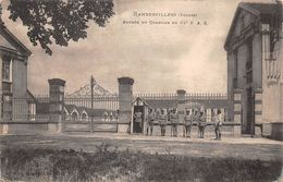 88 - Rambervillers - Entrée Animée Du Quartier Du 62e R.A.C. - Rambervillers