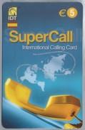 ES.- INTERNATIONAL CALLING CARD - IDT. SUPERCALL. - € 5. - 2 Scans. - Spanje