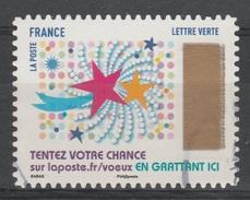 "France, Greetings, Lottery Stamp ""Star"", 2017, VFU Self-adhesive - Frankrijk"