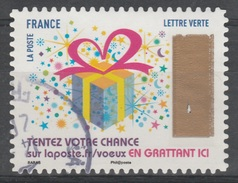 "France, Greetings, Lottery Stamp ""Gift"", 2017, VFU Self-adhesive - Frankrijk"