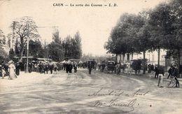 Cpa Caen 14 Calvados Tribune Hippodrome Champ De Course - Caen