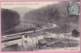 L150A_583 - Bains-les-Bains - Vallée Du Canal Et Du Concy à Grurupt - Carte Précurseur - Bains Les Bains