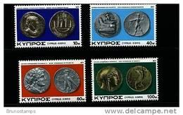 CYPRUS - 1977  COINS  SET MINT NH - Chypre (République)