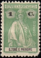 ST. THOMAS & PRINCE ISLAND - Scott #197 Ceres / Mint H Stamp - St. Thomas & Prince