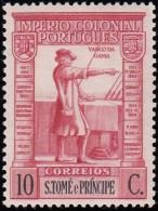 ST. THOMAS & PRINCE ISLAND - Scott #304 Vasco Da Gama / Mint H Stamp - St. Thomas & Prince