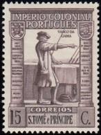 ST. THOMAS & PRINCE ISLAND - Scott #305 Vasco Da Gama / Mint H Stamp - St. Thomas & Prince