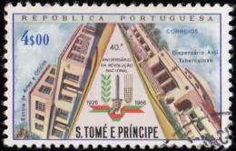 ST. THOMAS & PRINCE ISLAND - Scott #392 National Revolution / Used Stamp - St. Thomas & Prince