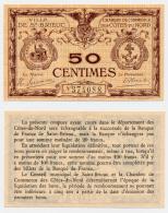 1914-1918 // C.D.C. // ST BRIEUX // 50 Centimes - Chambre De Commerce