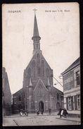 IZEGEM - ISEGHEM Kerk H. HERT - KOOPJE - PUB SINGER SEWING MACHINES - PUBLICITE MACHINE A COUDRE - Izegem