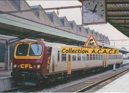 Automotrice Z 2001 Des CFL, En Gare De Luxembourg-Ville  - - Luxemburg - Town