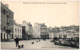 56 BELLE-ILE-en-MER - Le Palais - Les Deux Quais Bonnelle Et Macé - Belle Ile En Mer