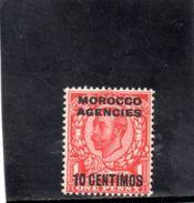 MAROC 1912 ** - Bureaux Au Maroc / Tanger (...-1958)