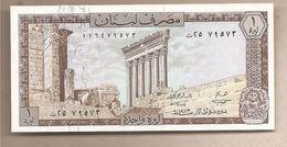 Libano - Banconota Non Circolata FdS Da 1 Livre - 1974 - Libano