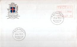 Island - Postur - Vignettes D'affranchissement (Frama)