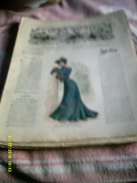 Journal De Famille La Mode Illustrée  No 30 ( Avec Planche De Patrons)  De 43em  Année  Le 27 Juillet 1902  6 Pages - Mode