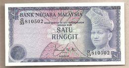 Malesia - Banconota Non Circolata FdS Da 1 Ringgit P-13a - 1976 - Malesia