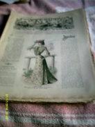 Journal De Famille La Mode Illustrée  No 32 ( Avec Planche De Patrons)  De 43em  Année  Le  10 Aout 1902  6 Pages - Mode