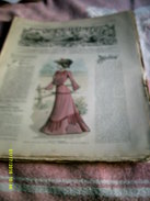 Journal De Famille La Mode Illustrée  No 34 ( Avec Planche De Patrons)  De 43em  Année  Le  24 Aout 1902  6 Pages - Mode