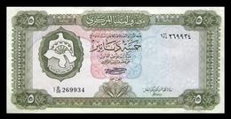 # # # Banknote Libyen (Libya) 5 Dinars 1972 UNC- # # # - Libyen
