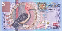 Surinam P.146   5 Gulden 2000  Unc - Surinam