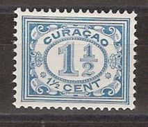 Nederlandse Antillen Curacao 46 MLH Ong ; Cijfer, Cipher, Cifra, Cifre 1915 - Curaçao, Antilles Neérlandaises, Aruba