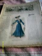 Journal De Famille La Mode Illustrée  No 38 ( Avec Planche De Patrons)  De 43em  Année  Le  21 Sept 1902  6 Pages - Fashion