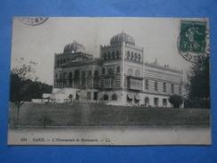 75-PARIS L'observatoire De Montsouris , Circulée En 1915 , Dos Vert - Arrondissement: 14