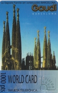 TARJETA DE ESPAÑA DE LA SAGRADA FAMILIA DE GAUDI (WORLD CARD) - Sin Clasificación