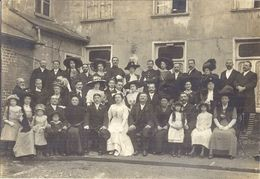 MARIAGE  ANNEES 1920  BEAUX CHAPEAUX - Personnes Anonymes