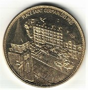 Médaille Arthus Bertrand 75.Paris - Place Saint Germain Des Prés 2005 SD Neuve - Arthus Bertrand