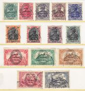 German PLEBISCITE East Prussia Allenstien 15-28   (o) - Occupation 1914-18