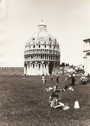 Pisa - REAL PHOTO (13,0 X 18,0 Cm) - Battistero - Italia - Pisa