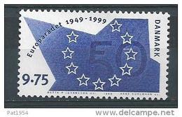 Danemark 1999 N°1214  Neuf ** Conseil De L'Europe - Danemark