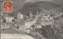 1194- Mont-pilat. Rochetailée (loire) Vue Générale - Rochetaillee