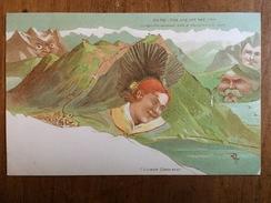 (Alpes Suisses) Le Righi. Carte Neuve éditée Par Killinger (n° 107), Vers 1900, BE+. - Avant 1900