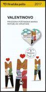 Croatia 2017 / Prospectus, Leaflet, Brochure / Saint Valentine's Day / Love Couple - Croatia