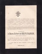 LIEGE SINGAPORE Baron Robert De SELYS-FANSON Diplomate Belge 1837-1887 Fauquemont - Obituary Notices