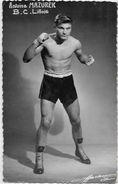 CPSM Boxe Boxeur Sport Non Circulé Antoine MAZUREK - Boxing