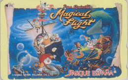 Télécarte Japon / 110-016  - PARC D'ATTRACTION - Parque España Spain - QUICHOTE MAGICAL FLIGHT Japan Phonecard  ATT 392 - Cultural