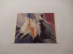 """Cheval    """" Femmes A Cheval """" Les Acrobates Ou Femmes De Cirque  De Marie Laurencin   Japon - Horses"""