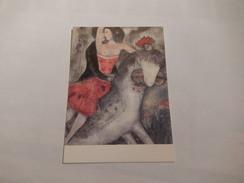 """Cheval    """" L'écuyere De Cirque A Cheval """" Seins Nus - Horses"""