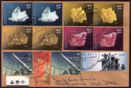 Argentina - 2017 - Lettre - Minéraux - Sulphur - Rhodochrosite - Pyrite - Quartz - Lettres & Documents