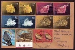 Argentina - 2017 - Lettre - Minéraux - Sulphur - Rhodochrosite - Pyrite - Quartz - Faune: Aigle - Tortue - Lettres & Documents