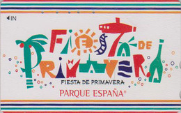 Télécarte Japon / 110-011 - Parque España Spain Village - FIESTA DE PRIMAVERA - Japan Phonecard - ATT 404 - Culture