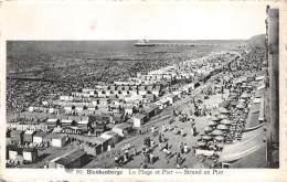 BLANKENBERGE - La Plage Et Pier - Strand En Pier - Blankenberge
