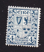 Ireland, Scott #71, Mint Hinged, Coat Of Arms, Issued 1922 - Nuovi