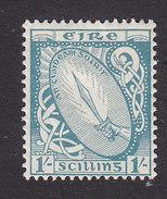 Ireland, Scott #76, Mint Hinged, Sword Of Light, Issued 1922 - 1922-37 Stato Libero D'Irlanda